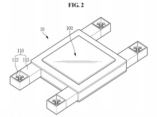 Samsung patenteert drone met scherm die gebruiker kan volgen